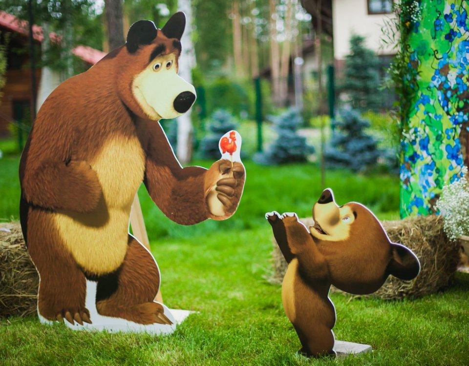 Детский праздник Маша и Медведь