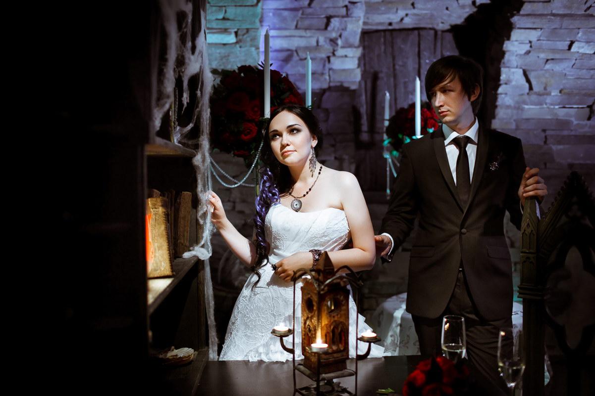 свадьба готика